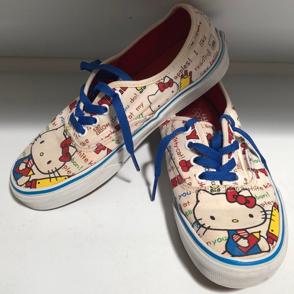63979958023 Limited edition Hello Kitty x Vans collaboration.  M 5b870e394cdc300a63ffa151. Other Shoes ...